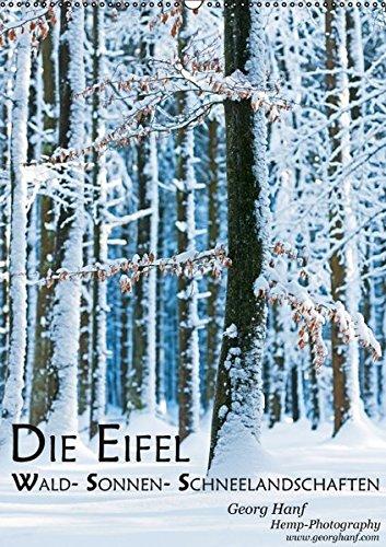 9783664197736: Die Eifel- Wald- Sonnen- Schneelandschaften (Wandkalender 2016 DIN A2 hoch): Winterimpressionen der Eifellandschaft. (Monatskalender, 14 Seiten)