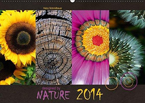9783664203819: Designed by Nature - Flora 2016 (Wandkalender 2016 DIN A2 quer): Monatskalender im Querformat mit 4 Bildern pro Blatt über das Design der Natur aus dem Bereich Flora. (Monatskalender, 14 Seiten)