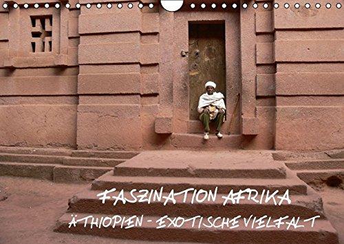 9783664203895: Faszination Afrika: Äthiopien - Exotische Vielfalt (Wandkalender 2016 DIN A4 quer)