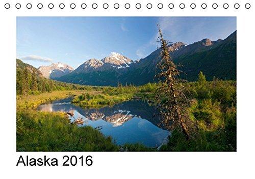 9783664209842: Alaska 2016 (Tischkalender 2016 DIN A5 quer): Monatskalender mit Bildern aus Alaska. (Monatskalender, 14 Seiten)