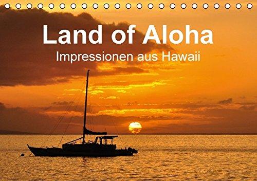 9783664224555: Hawaii - Land of Aloha (Tischkalender 2016 DIN A5 quer): Impressionen aus Hawaii (Monatskalender, 14 Seiten)