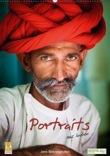 9783664225545: Portraits aus Indien (Wandkalender 2016 DIN A2 hoch): Portraits von Menschen aus Indien (Monatskalender, 14 Seiten)