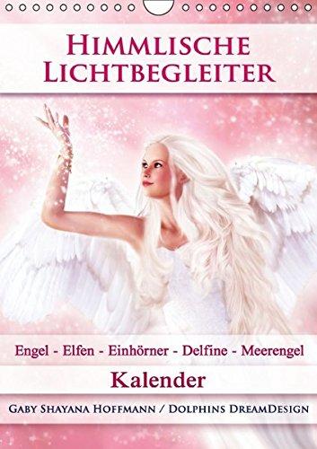 9783664231492: Himmlische Lichtbegleiter - Kalender (Wandkalender 2016 DIN A4 hoch): Zauberhafte Engel, Elfen/Feen, Einhörner, Delfine und Meerengel (Monatskalender, 14 Seiten)