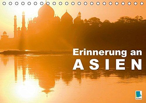 9783664249800: Erinnerungen an Asien (Tischkalender 2016 DIN A5 quer): Von Tibet bis Thailand (Monatskalender, 14 Seiten)