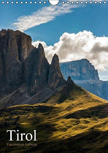 9783664252114: Tirol - Faszination Gebirge (Wandkalender 2016 DIN A4 hoch): Fotografien vom und im Gebirge (Monatskalender, 14 Seiten)