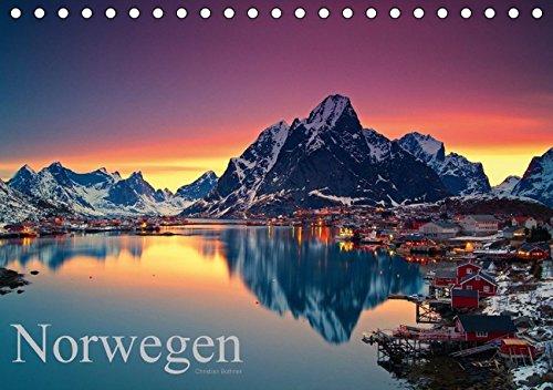 9783664253210: Norwegen (Tischkalender 2016 DIN A5 quer): Landschaften in Nord Norwegen auf den Lofoten und Vesteralen (Monatskalender, 14 Seiten)