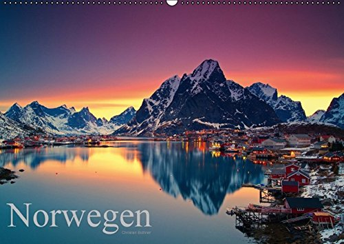 9783664253227: Norwegen - Wandkalender 2016