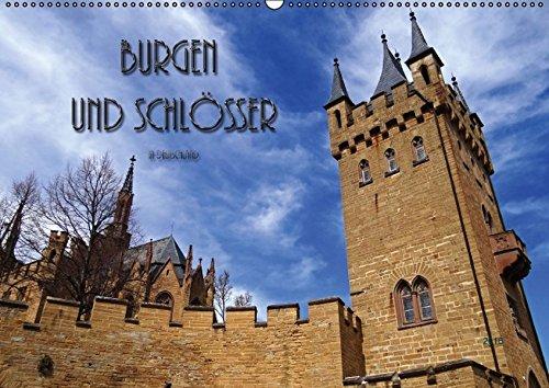 9783664257782: Burgen und Schlösser in Deutschland (Wandkalender 2016 DIN A2 quer): Bekannte und weniger bekannte Wehrbauen und künstlerisch gestaltete Gebäude ... kleiner Auszug. (Monatskalender, 14 Seiten)