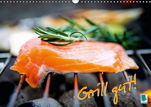 9783664282654: Grill gut! (Wandkalender 2016 DIN A3 quer): Auf heißen Kohlen (Monatskalender, 14 Seiten)