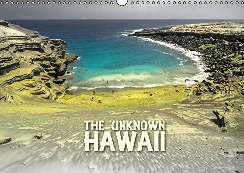 9783664284955: The Unknown HAWAII (Wandkalender 2016 DIN A3 quer): Fotografien der vielf�ltigen Natur Hawaii's (Monatskalender, 14 Seiten)
