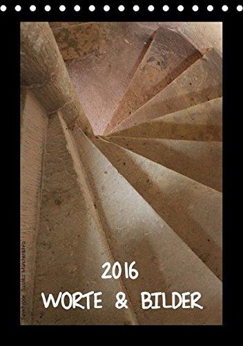 9783664292707: WORTE & BILDER (Tischkalender 2016 DIN A5 hoch): Zitate und Bilder in Harmonie (Monatskalender, 14 Seiten)