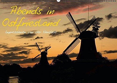 9783664304783: Abends in Ostfriesland - Wandkalender 2016