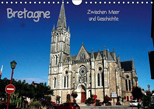 9783664311521: Bretagne - Zwischen Meer und Geschichte (Wandkalender 2016 DIN A4 quer): Bretagne zwischen Meer und Geschichte (Monatskalender, 14 Seiten)
