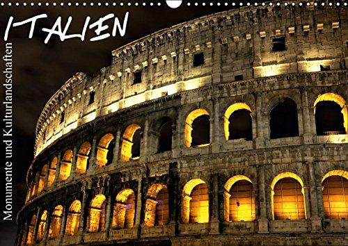 9783664317820: Italien - Monumente und Kulturlandschaften - Wandkalender 2016