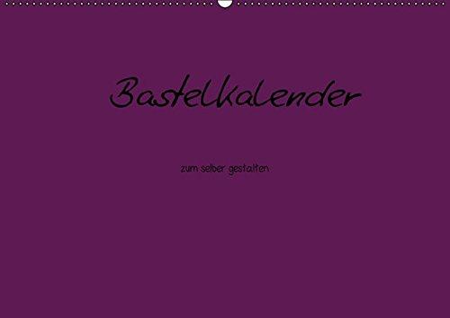 9783664321094: Bastelkalender - Lila (Wandkalender 2016 DIN A2 quer): Bastelkalender - Lila (Monatskalender, 14 Seiten)