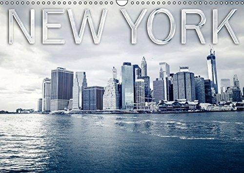 9783664330249: New York (Wandkalender 2016 DIN A3 quer): Die schönsten Fotos des Big Apple (Monatskalender, 14 Seiten)