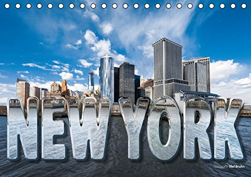 9783664334797: New York (Tischkalender 2016 DIN A5 quer): 12 hochauflösende New York-Fotografien von Olaf Bruhn. (Monatskalender, 14 Seiten)