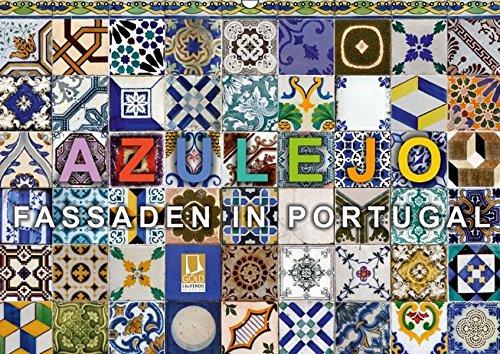 9783664334971: Azulejo-Fassaden in Portugal (Wandkalender 2016 DIN A2 quer): 12 typische Beispiele von Azulejo-Fassaden in Portugal (Monatskalender, 14 Seiten)