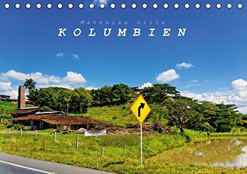 9783664337552: Kolumbien (Tischkalender 2016 DIN A5 quer): Kolumbien - Land der Kontraste (Monatskalender, 14 Seiten)