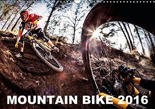 9783664339747: Mountain Bike 2016 by Stef. Candé - Wandkalender 2016