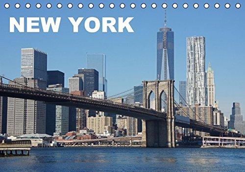 9783664346875: New York (Tischkalender 2016 DIN A5 quer): Bilder einer faszinierenden Stadt (Monatskalender, 14 Seiten)