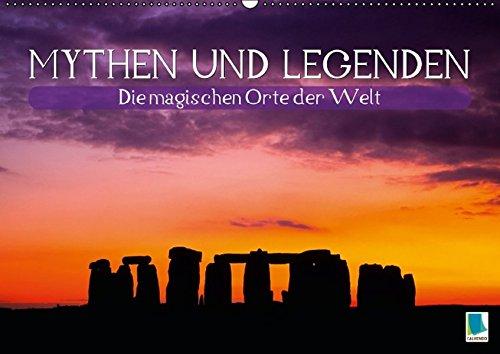 9783664351183: Mythen und Legenden - Die magischen Orte der Welt (Wandkalender 2016 DIN A2 quer): Mythen und Legenden: Diesseits und Jenseits (Monatskalender, 14 Seiten)
