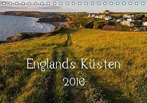 9783664351329: Englands Küsten 2016 (Tischkalender 2016 DIN A5 quer): Die schönsten Küstenlandschaften Englands und Wales. (Monatskalender, 14 Seiten)