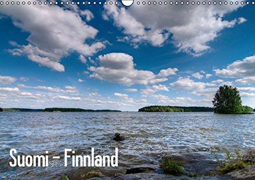 9783664360536: Suomi - Finnland (Wandkalender 2016 DIN A3 quer): Seen-, Fluss- und Meerlandschaften Süd-/Westfinnlands (Monatskalender, 14 Seiten)