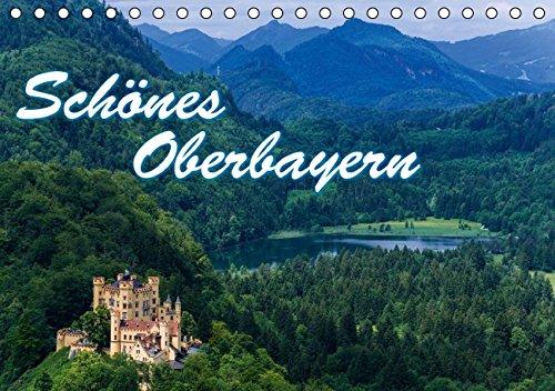 9783664361557: Sch�nes Oberbayern (Tischkalender 2016 DIN A5 quer): Oberbayerns Seen und Berge (Monatskalender, 14 Seiten)