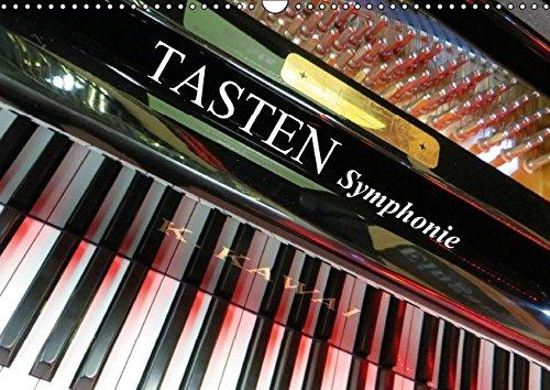 9783664366187: TASTEN Symphonie (Wandkalender 2016 DIN A3 quer): Tasteninstrumente aus ungewohnten Perspektiven fotografiert. (Monatskalender, 14 Seiten)
