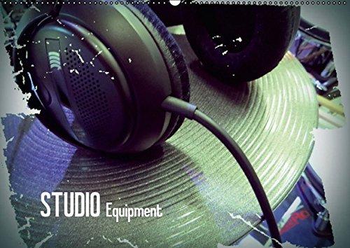 9783664368402: STUDIO Equipment (Wandkalender 2016 DIN A2 quer): Bilder von Musikinstrumenten und Soundtechnik, dargestellt mit interessantem Farbeffekt. (Monatskalender, 14 Seiten)