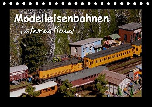 9783664369249: Modelleisenbahnen international (Tischkalender 2016 DIN A5 quer)