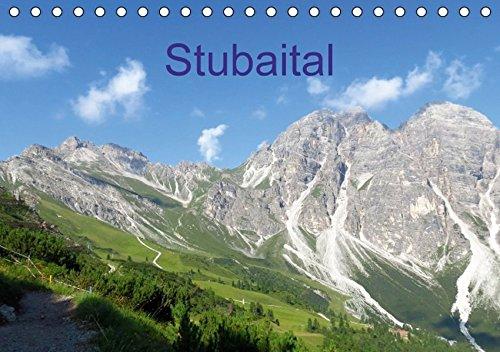 9783664380985: Stubaital (Tischkalender 2016 DIN A5 quer): Berge, Alpenblumen, Wanderungen im sommerlichen Stubaital (Monatskalender, 14 Seiten)