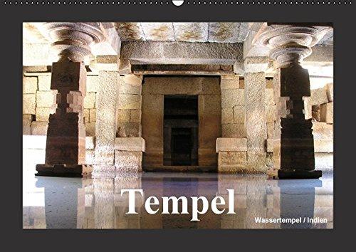 9783664383979: Tempel (Wandkalender 2016 DIN A2 quer): Tempel sind der prunkvolle Sitz der Götter (Monatskalender, 14 Seiten)