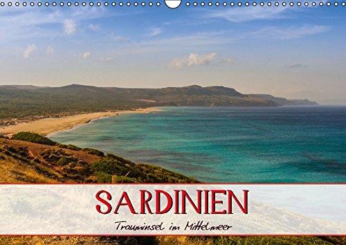 9783664384136: Sardinien Panoramakalender (Wandkalender 2016 DIN A3 quer): Die Trauminsel im Mittelmeer (Monatskalender, 14 Seiten)