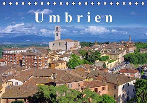 9783664385324: Umbrien (Tischkalender 2016 DIN A5 quer): Entdecken Sie Umbrien, das grüne Herz Italiens, mit seinen lieblichen Hügeln und historischen Städten. (Monatskalender, 14 Seiten)