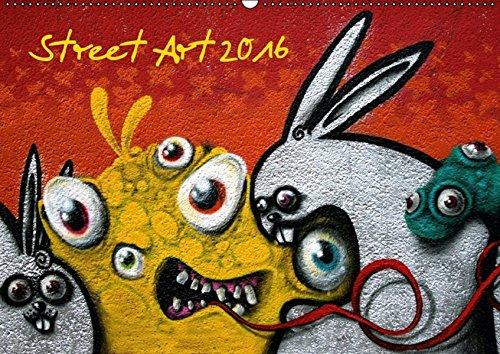 9783664390595: Street-Art 2016 / CH-Version (Wandkalender 2016 DIN A2 quer): Street-Art - Kunst im �ffentlichen Raum (Monatskalender, 14 Seiten)