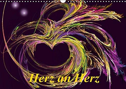 9783664394050: Herz an Herz / CH-Version (Wandkalender 2016 DIN A3 quer): Herzen sind ein Symbol der Liebe und Zuneigung. Ein Kalender voller Poesie und Romantik. (Monatskalender, 14 Seiten)