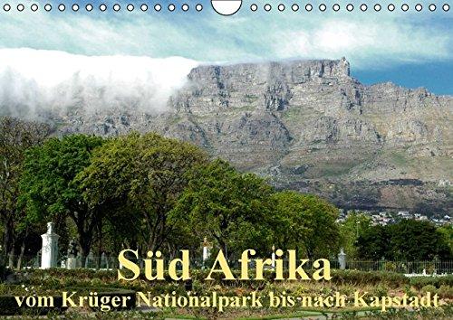 9783664419289: Süd Afrika - vom Krüger Nationalpark bis nach Kapstadt (Wandkalender 2016 DIN A4 quer): Landschaften, Tiere, Menschen Süd Afrikas (Monatskalender, 14 Seiten)