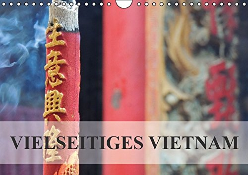 9783664421640: Vielseitiges Vietnam (Wandkalender 2016 DIN A4 quer): Vietnam - Perle Südostasiens (Monatskalender, 14 Seiten)