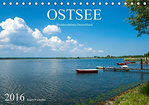 9783664421763: OSTSEE Wundersch�nes Deutschland (Tischkalender 2016 DIN A5 quer): Die Ostsee in zw�lf stillen und traumhaft sch�nen Bildern. (Monatskalender, 14 Seiten)