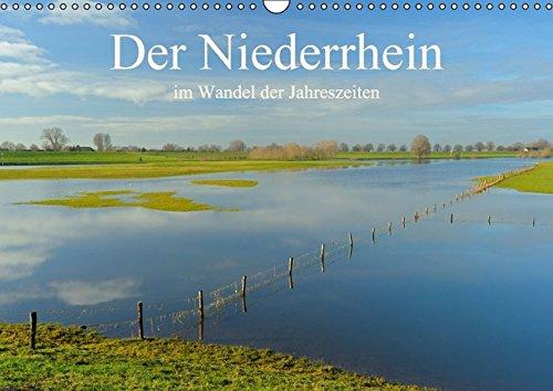 9783664425853: Der Niederrhein im Wandel der Jahreszeiten (Wandkalender 2016 DIN A3 quer)