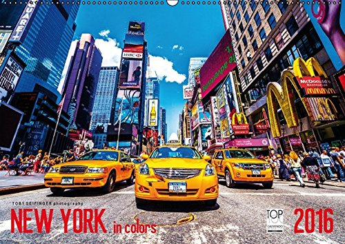 9783664429172: New York in Colors 2016 (Wandkalender 2016 DIN A2 quer)