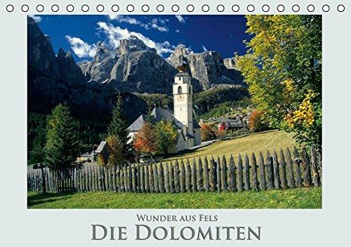 9783664432288: Wunder aus Fels Die Dolomiten (Tischkalender 2016 DIN A5 quer): Eine Gebirgsformation, die an Schönheit kaum zu übertreffen ist. (Monatskalender, 14 Seiten)
