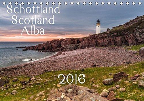 9783664436835: Schottland - Scotland - Alba (Tischkalender 2016 DIN A5 quer): 13 brillante Bilder zeigen Schottlands faszinierende Landschaft auf beeindruckende Weise. (Monatskalender, 14 Seiten)