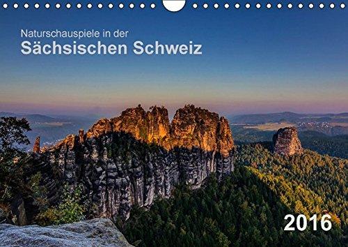 9783664439805: Naturschauspiele in der Sächsischen Schweiz (Wandkalender 2016 DIN A4 quer): 12 tolle Stimmungen, eingefangen in der Sächsischen Schweiz. (Monatskalender, 14 Seiten)