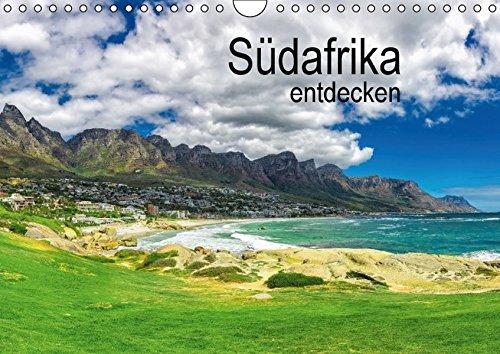 9783664441778: Südafrika entdecken (Wandkalender 2016 DIN A4 quer): Südafrika rund um Kapstadt und das Westkap (Monatskalender, 14 Seiten)