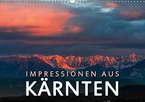 9783664447848: Impressionen aus Kärnten - Wandkalender 2016