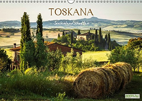 9783664449576: Toskana . Seelenlandschaften (Wandkalender 2016 DIN A3 quer): Landschaftsbilder der Toskana (Monatskalender, 14 Seiten)