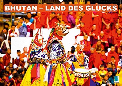 9783664449828: Bhutan: Land des Glücks - Wandkalender 2016